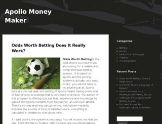 apollomoneymaker.com screenshot