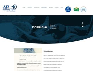 aporto.com.br screenshot