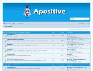 apositive.org screenshot