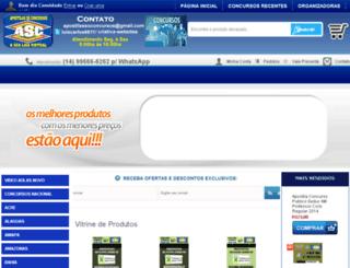 apostilassoconcursos.com.br screenshot