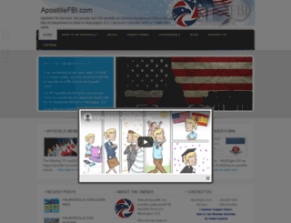 apostillefbi.com screenshot