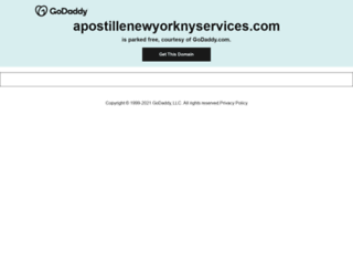 apostillenewyorknyservices.com screenshot