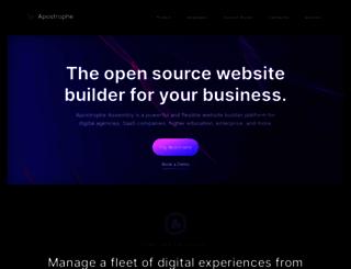 apostrophenow.org screenshot