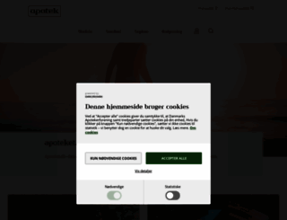 apoteket.dk screenshot