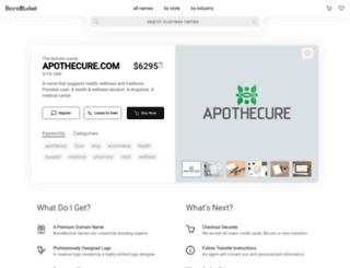 apothecure.com screenshot