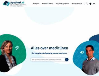 apotheek.nl screenshot