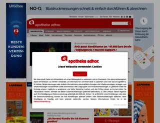 apotheke-adhoc.de screenshot
