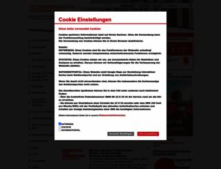 apothekerkammer-niedersachsen.de screenshot
