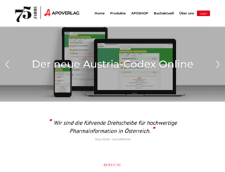 apoverlag.at screenshot