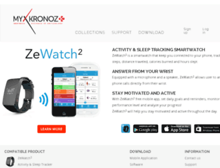 app-zewatch2.mykronoz.com screenshot