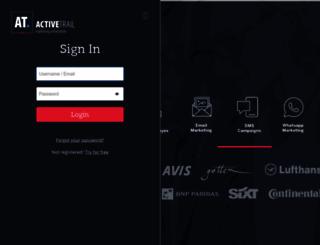 app.activetrail.com screenshot