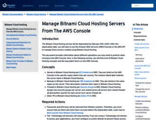 app.bitnamihosting.com screenshot