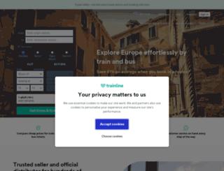 app.capitainetrain.com screenshot