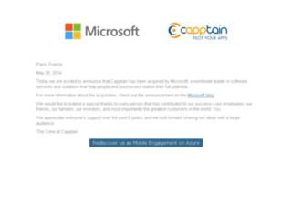 app.capptain.com screenshot