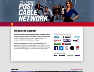 app.cheddar.com screenshot