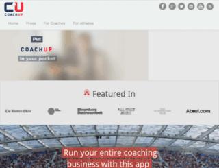 app.coachup.com screenshot