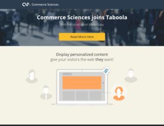 app.commercesciences.com screenshot
