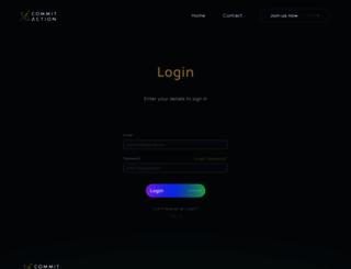 app.commitaction.com screenshot