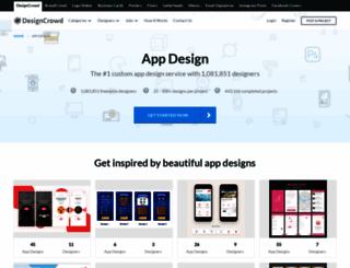 app.designcrowd.co.in screenshot