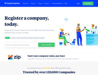 app.easycompanies.com.au screenshot