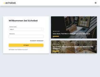 app.echobot.de screenshot