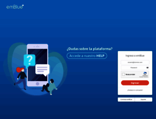 app.embluemail.com screenshot
