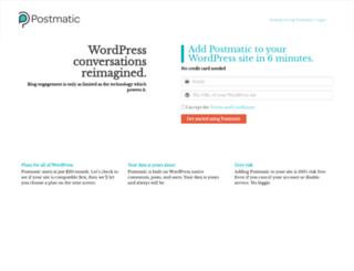 app.gopostmatic.com screenshot