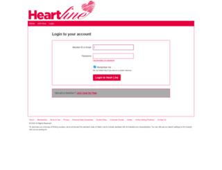 app.heart-line.co.uk screenshot
