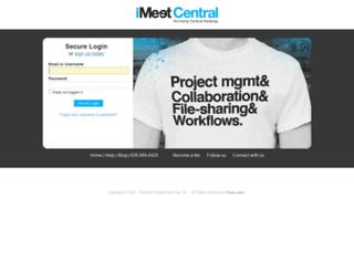 app.imeetcentral.com screenshot