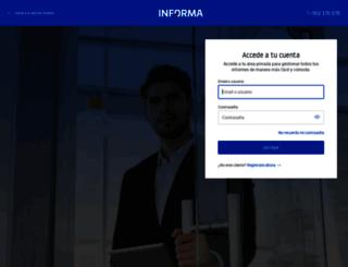app.informa.es screenshot
