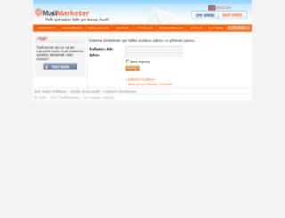 app.mailmarketer.net screenshot