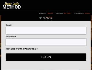 app.montecarlomethod.co screenshot