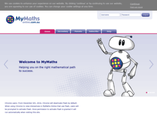 app.mymathsonline.com.au screenshot
