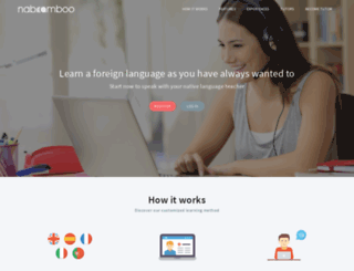 app.naboomboo.com screenshot