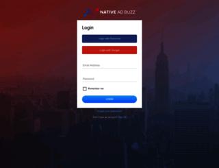 app.nativeadbuzz.com screenshot