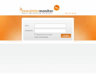 app.newslettermonitor.com screenshot