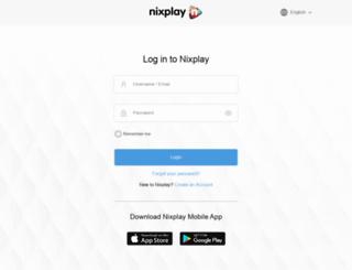 app.nixplay.com screenshot
