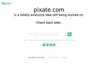 app.pixate.com screenshot