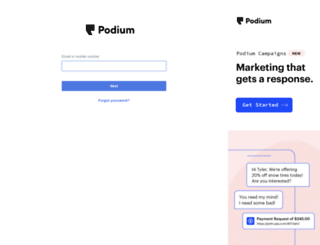 app.podium.co screenshot