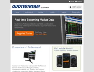 app.quotemedia.com screenshot