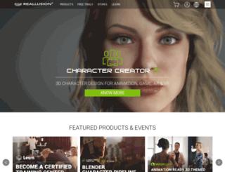 app.reallusion.com screenshot