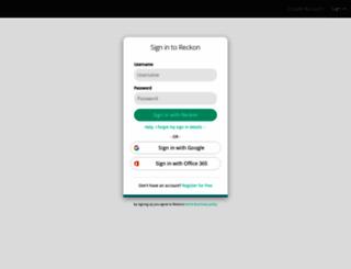 app.reckonone.com screenshot