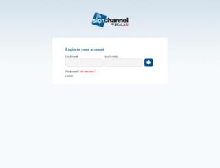 app.signchannel.com screenshot