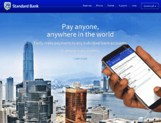 app.standardbank.co.za screenshot