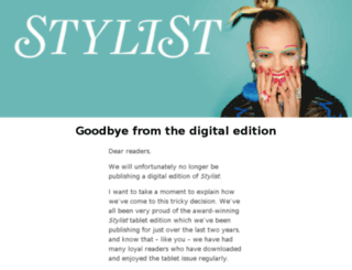app.stylist.co.uk screenshot