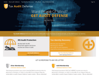 app.taxauditdefense.com screenshot