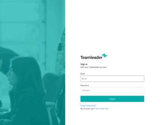app.teamleader.eu screenshot