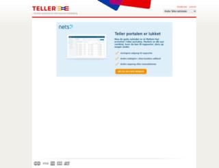app.teller.no screenshot