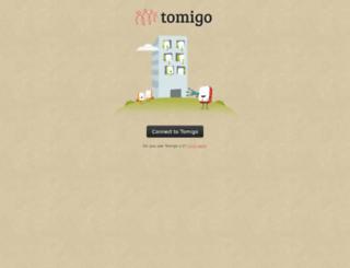 app.tomigo.com screenshot