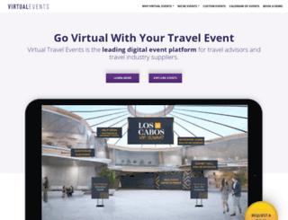 app.virtualtravelevents.com screenshot